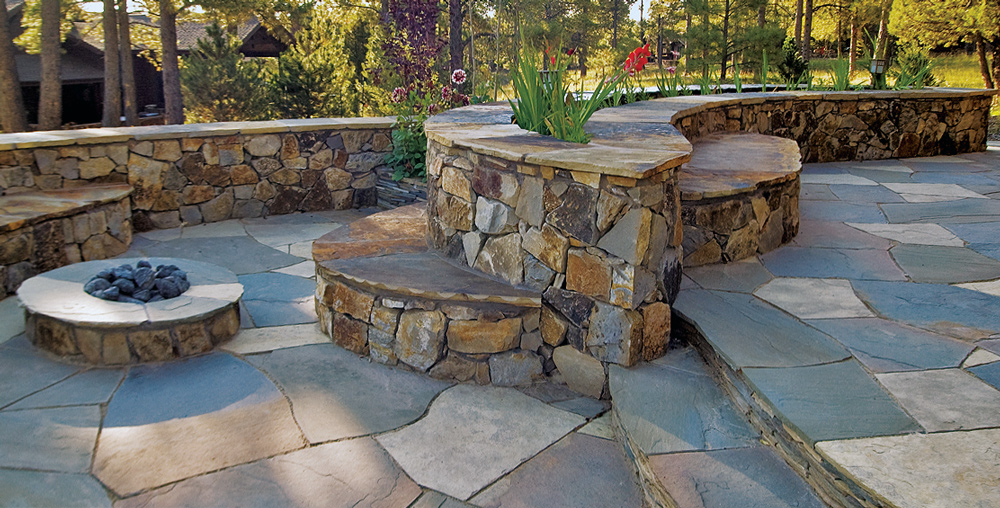 Flagstone Patio | Hardscaping