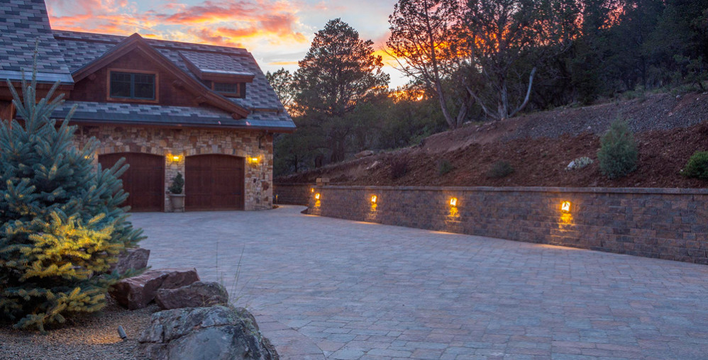 Landscaping - Driveways, Paver Drives, Paths, Retaining Walls, landscape contractor Colorado