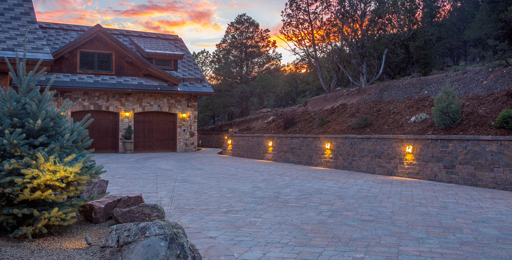 Landscaping – Driveways, Paver Drives, Paths, Retaining Walls, landscape contractor Colorado