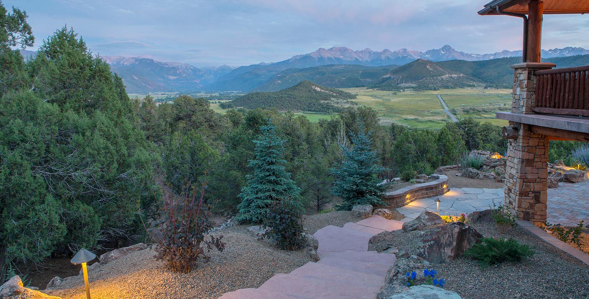 Landscape contractor telluride colorado
