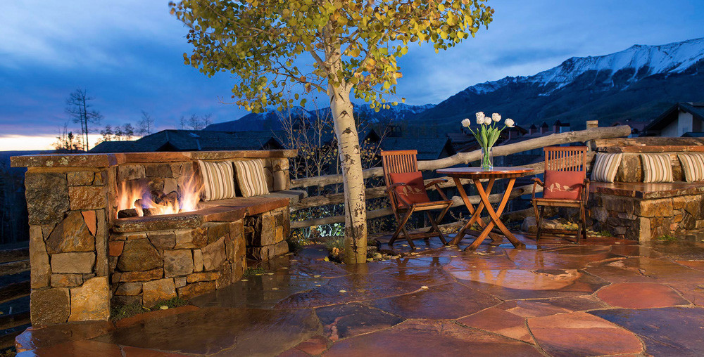 Telluride Landscaping - Patio, Fire Pit, Mountain Village