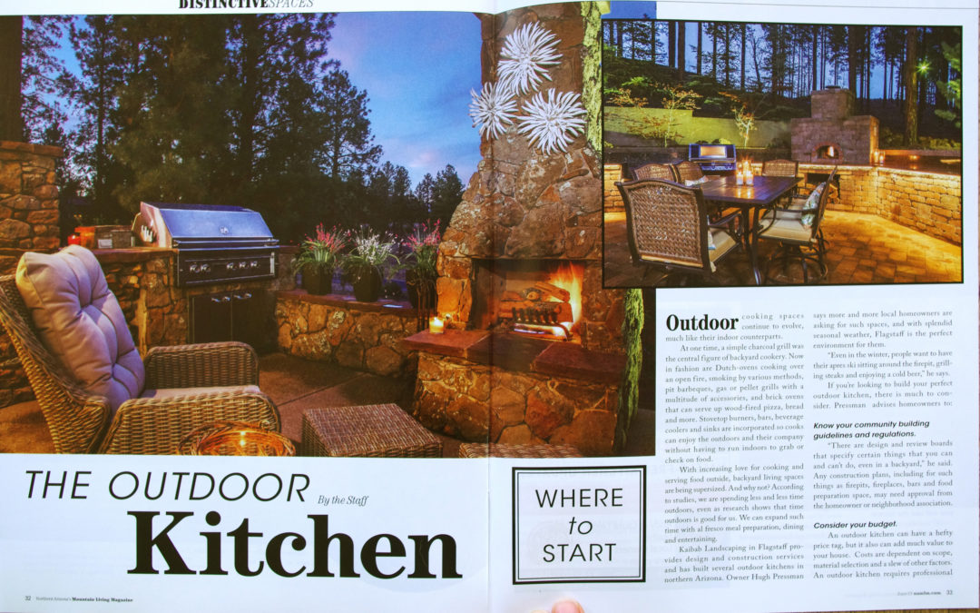 Mountain Living – Outdoor Kitchens July 2019