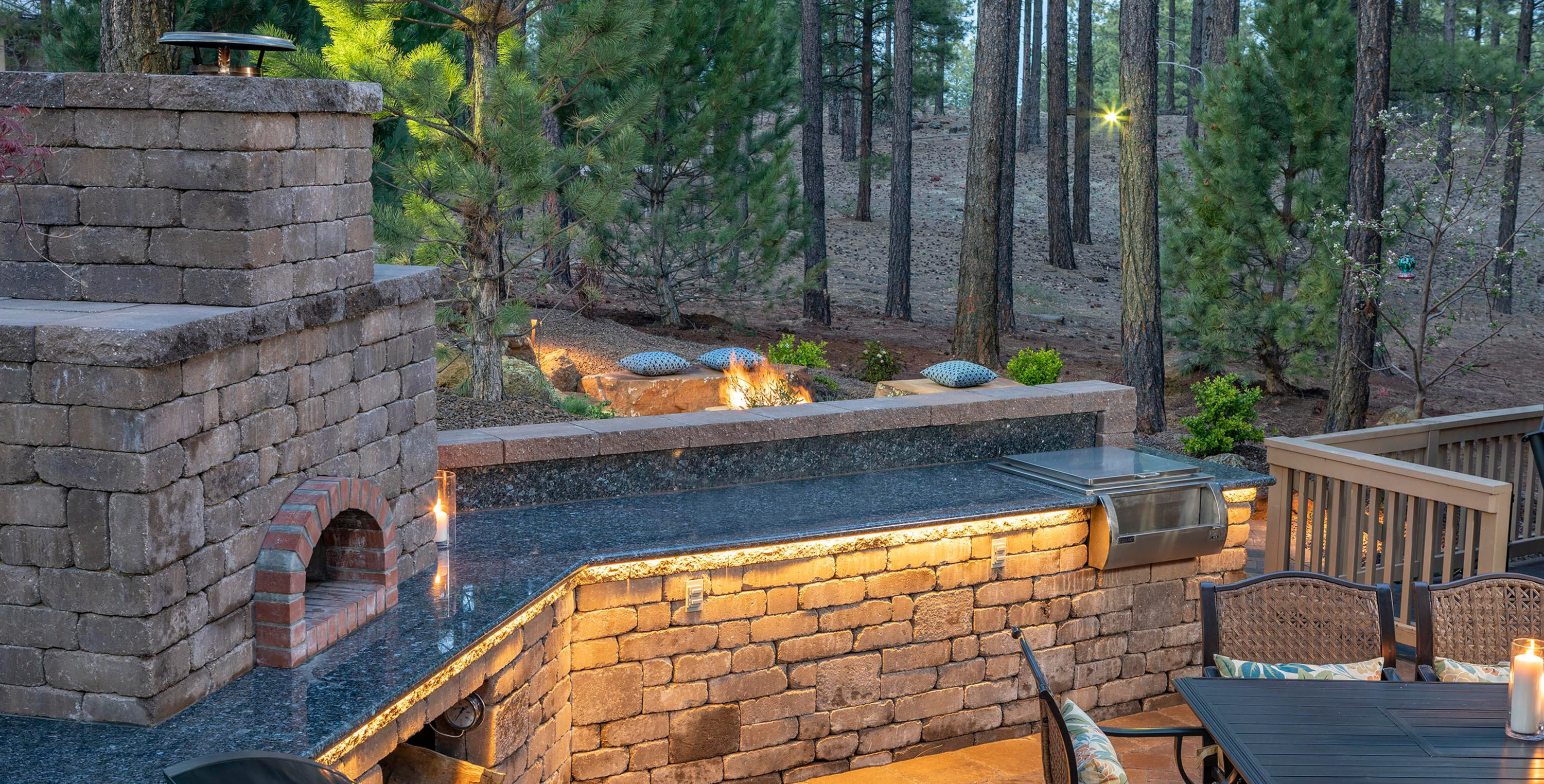 Pizza Oven - Outdoor Kitchen - Landscaping Company