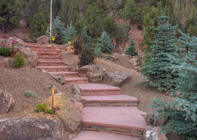 Flagstone Steps Landscaping